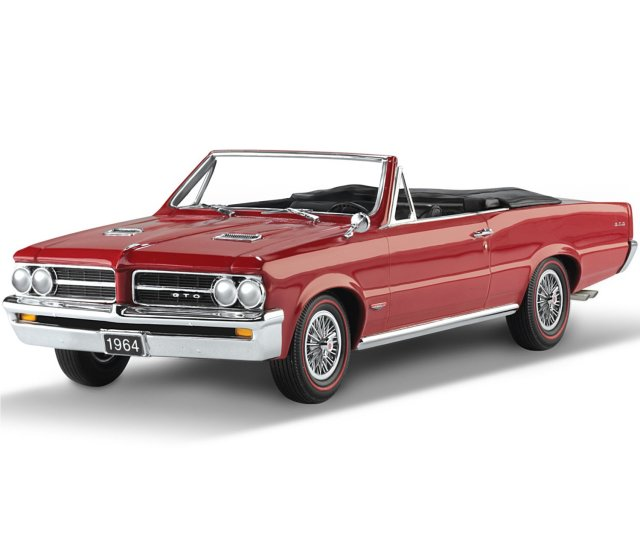 1964 Pontiac Gto Th Anniversary Commemorative Car Sculpture By The Hamilton Collection