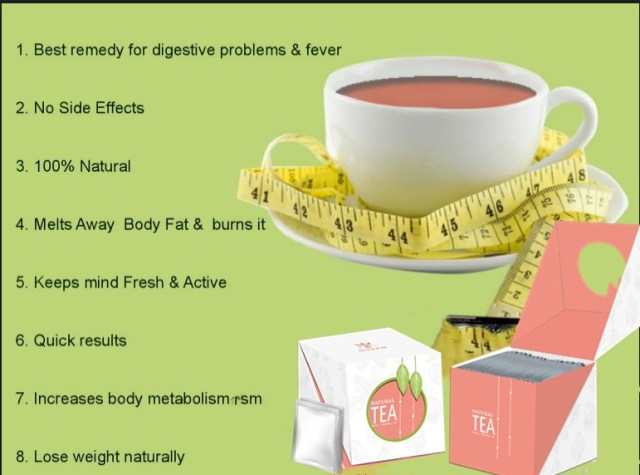 drink green tea to loose weight.