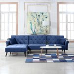 Buy Getmorebeauty L Shape Sectional Thick Plush Velvet Couch