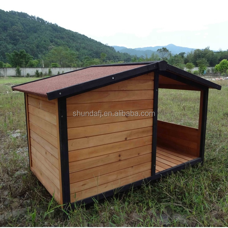 sdd011 pet dog kennel house with patio wooden timber bed porch deck new xl extra large buy pet dog kennel house wooden timber bed extra large dog