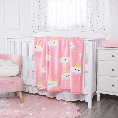 wholesale personalized 100% polyester soft touch flannel fleece kids and baby blanket china