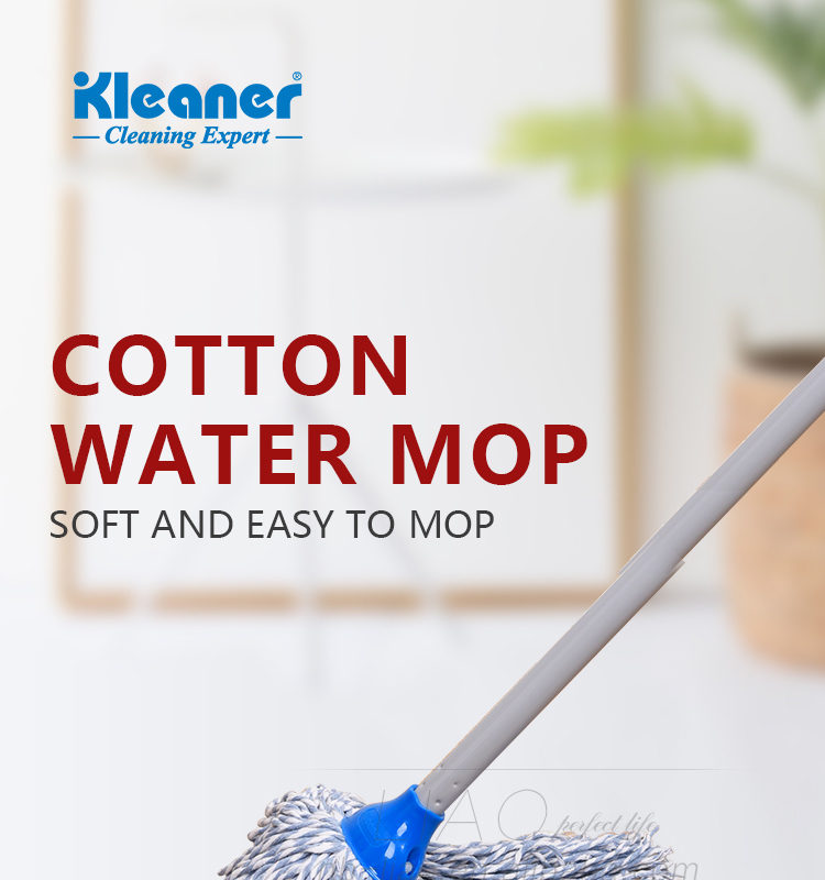 K19022 Kleaner Home Round Head Water Absorption Cotton Rope Mop