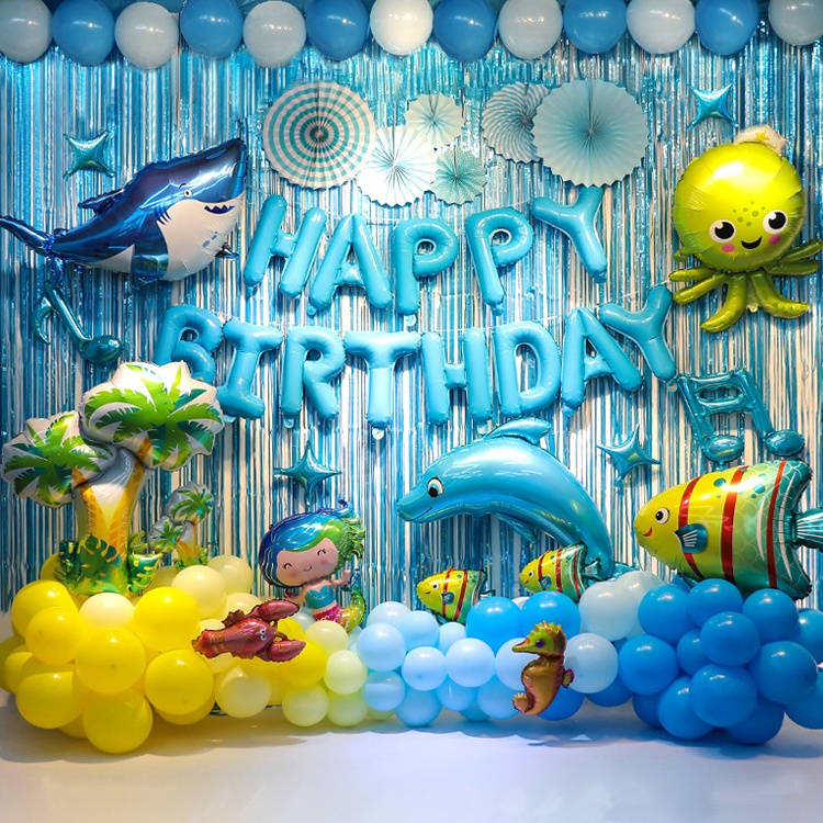 Inflatable Shine Balloon Decoration Set Kids Baby Boy 1st Birthday Party Supplies Buy Ballon And Party Supplies Party Favors For Kids Happy Birthday Banner Party Decoration Product On Alibaba Com