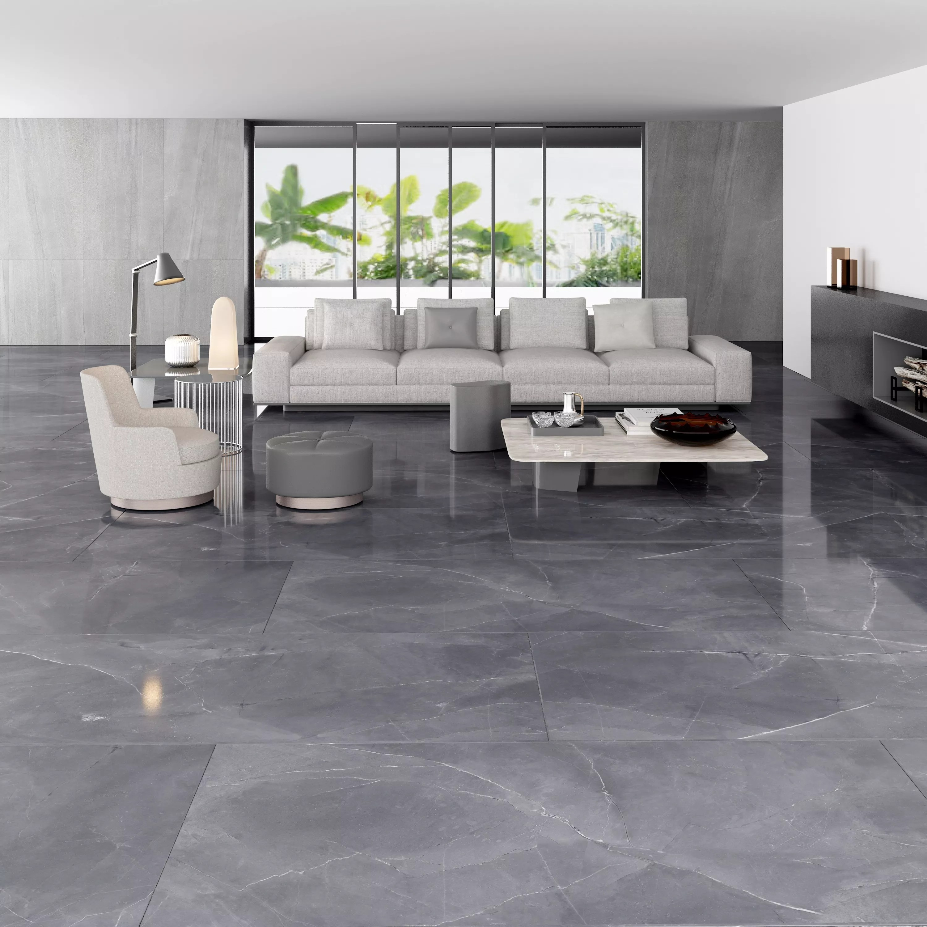 hot sell grey color full body polished glazed full body marble floor tiles 600x1200mm buy polished faux marble tile full body marble floor