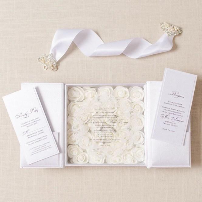 Luxury Laser Cutting Wedding Invites