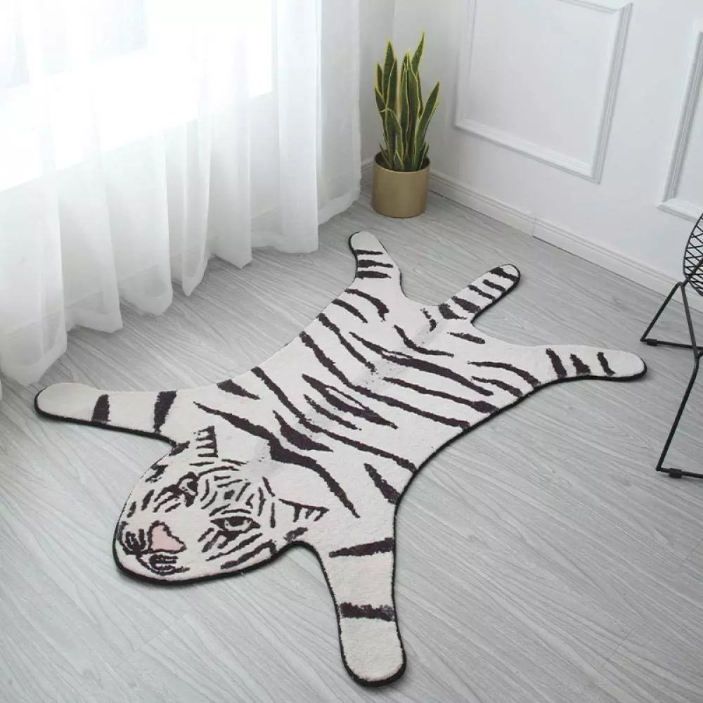 tapis de salon shaggy en forme de tigre tapis traditionnel chambre decor a la maison tapis buy enfants chambre patios hall tapis tapis d entree