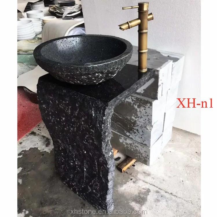 natural river cobble stone wash basin bathroom sink vanity unit counter top and natural stone sink trough buy natural river cobble stone wash basin