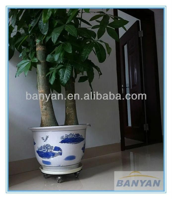2016 Flexible Plant Stand Edelstahl Pflanzen Dolly Blumentopf