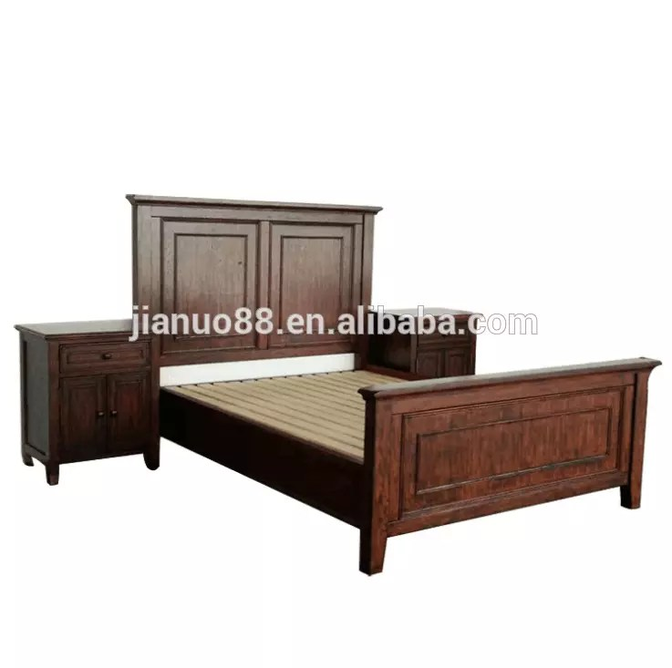 jianuo modern teak wood double bed designs solid wood bed furniture buy jianuo modern teak wood double bed solid wood bed furniture product on