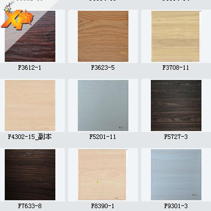 placage de grain de bois en papier pvc pour armoire bureau table meubles buy pvc pour armoire papier de placage de grain de bois papier de grain de