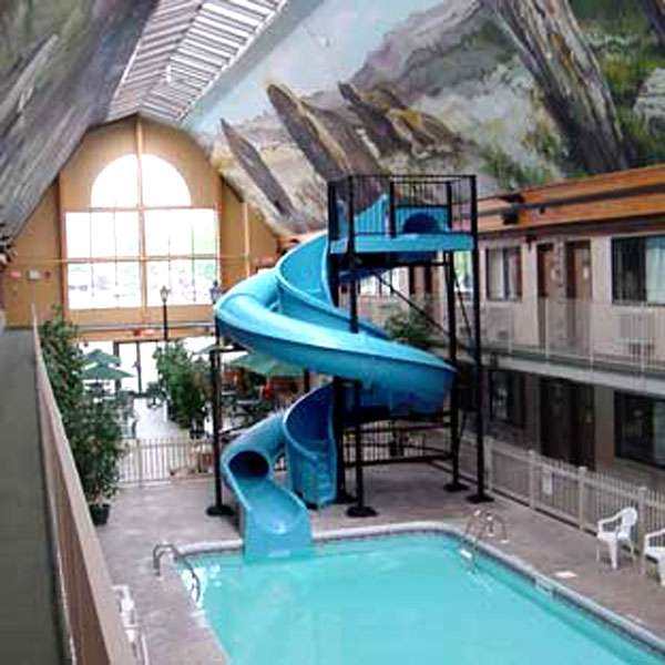 Hotel Indoor Fiberglass Swimming Pool Slide Buy Hotel