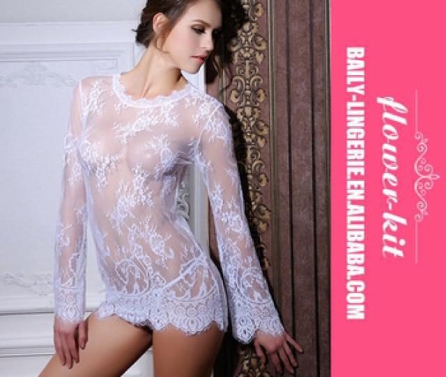 Hot Sexy Girls Beautiful Lace Babydoll Dress Ladies White Black