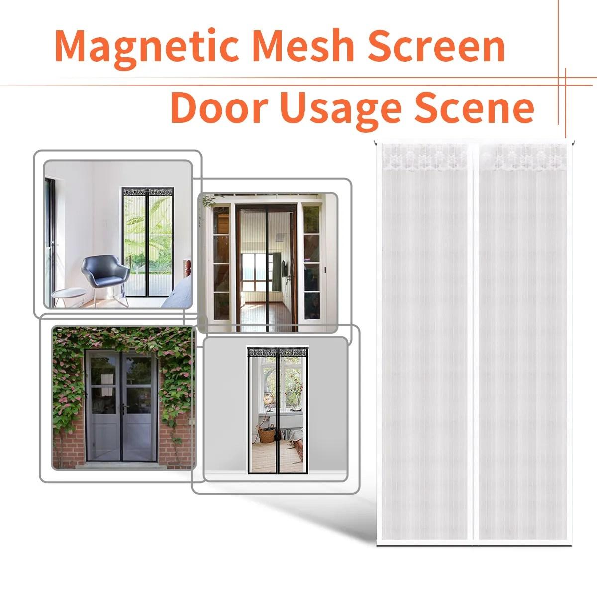 unionup 2019 new design magnetic door screen curtain fly mosquito net door mesh buy magnetic door screen curtain fly mosquito net magnetic door