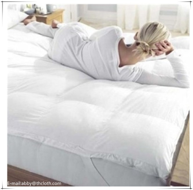 Feather Down Mattress Topper Supplieranufacturers At Alibaba