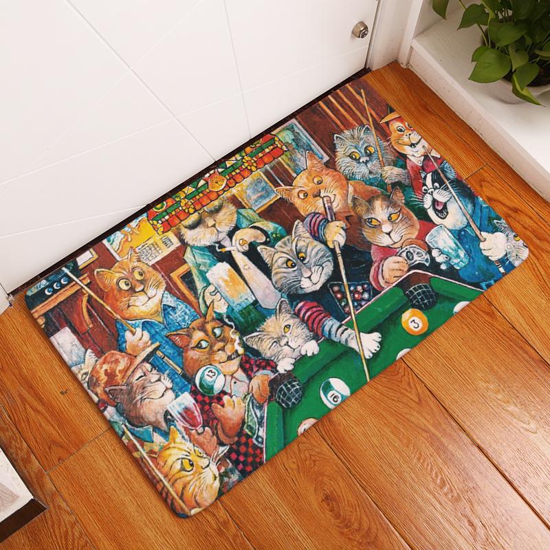 Cat Kitten Floor Mat Door Mat