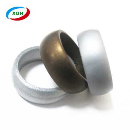 China Eco Friendly Rings Wholesale                    Alibaba 3 Packs eco friendly metallic color cheap silicone wedding ring