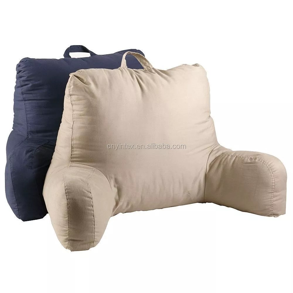 reading bed pillow with arms chair sit up boyfriend excellent head back support buy bed rest pillow backrest pillow bed chair pillow product on