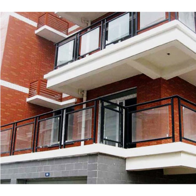 Modern Balcony Railing Design Steel With Glass Home And Kitchen