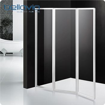 Acrylic Glass Plastic Folding Bathtub Shower Door 6593