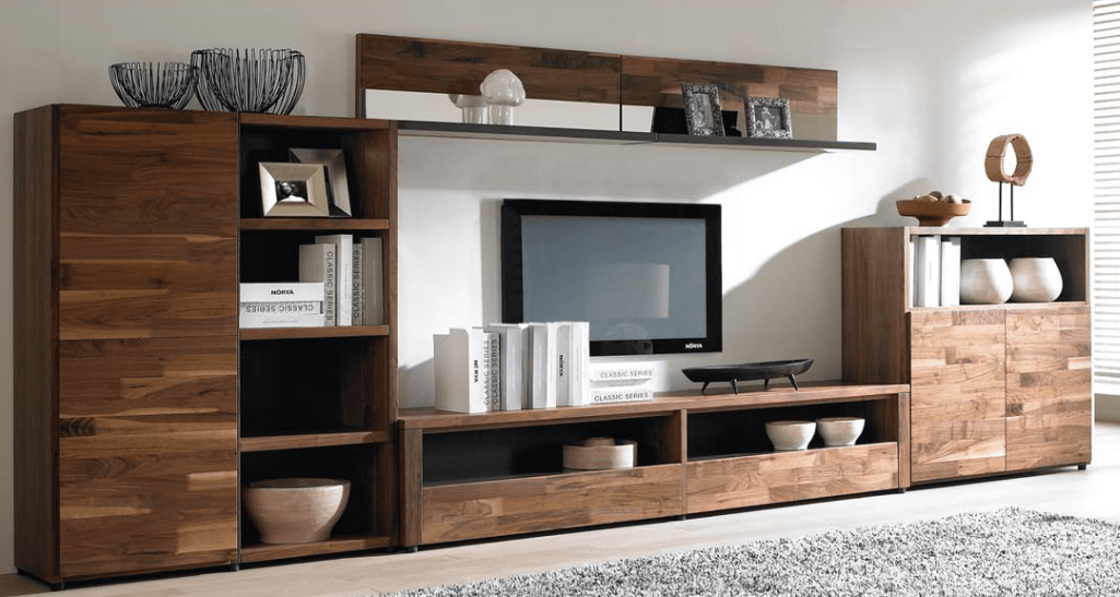 High Quality Simple Modern Wooden Tv Cabinet Designs For