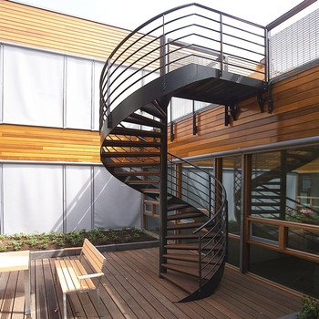 Outdoor Steel Beam Metal Spiral Staircase For Sale Buy Metal | Iron Spiral Staircase For Sale | Grey Exterior | Wrought Iron | Ornate | Helical Staircase | Architectural Salvage