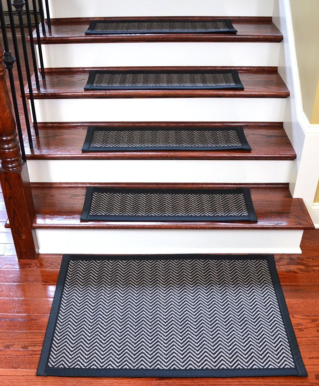 Buy Dean Hatteras Flatweave Indoor Outdoor Carpet Stair Treads   Outdoor Stair Carpet Runner   Stair Rods   Anti Slip Stair   Area Rug   Painted Stairs   Wooden Stairs