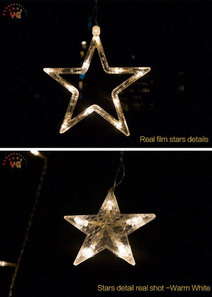 outdoor christmas plastic stars lights string dubai - Outdoor Christmas Lights Stars