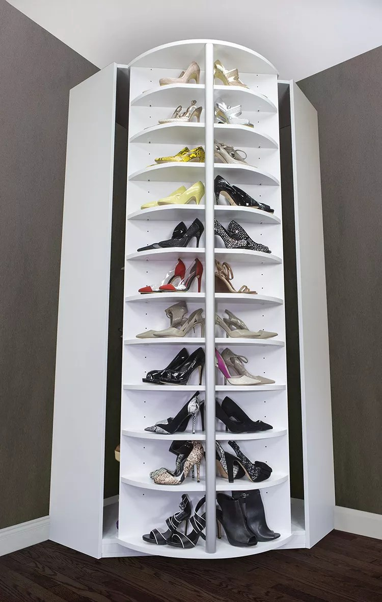 wooden rotating shoe rack high quality shoes display factory price storage cabinet design display buy rotating shoe rack wooden rotating shoe rack