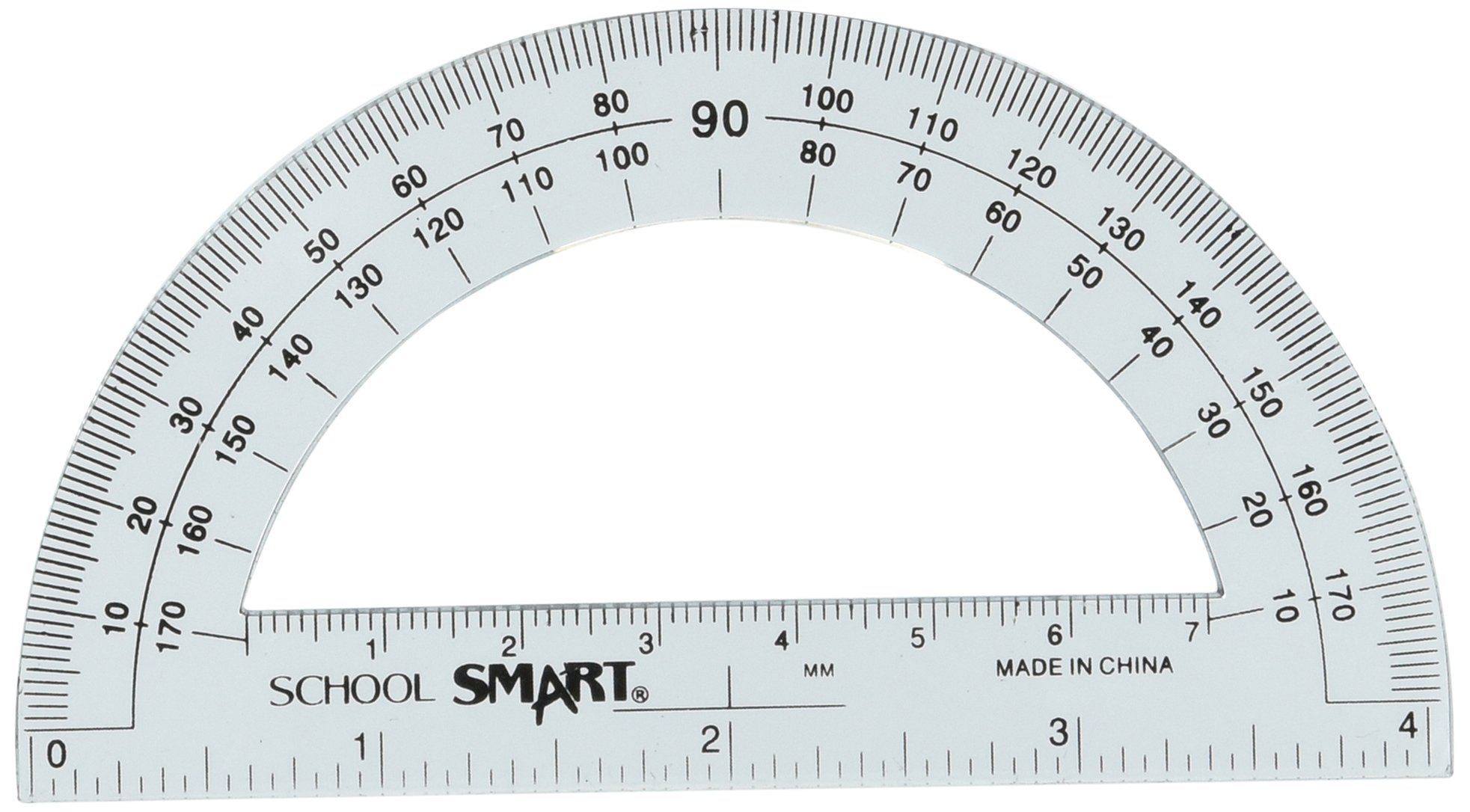 Buy Stationery Plastic 180 Degree Protractor Measuring