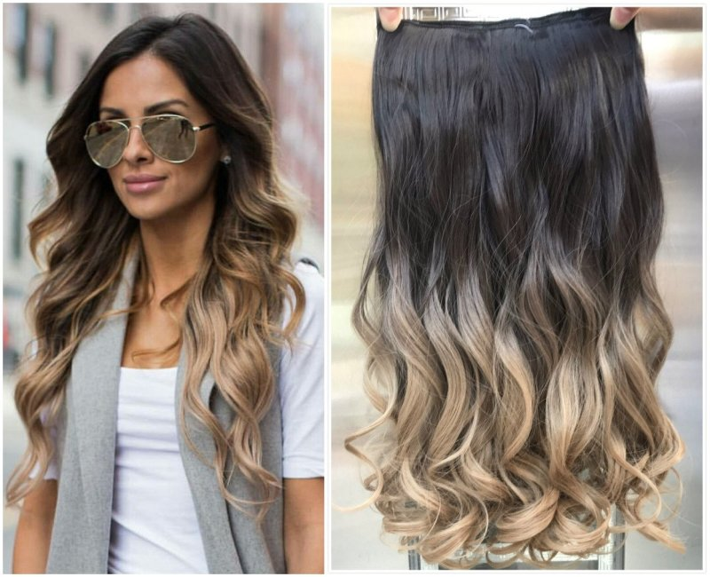 Dirty Blonde Ombre Hair Extensions Makeupsite