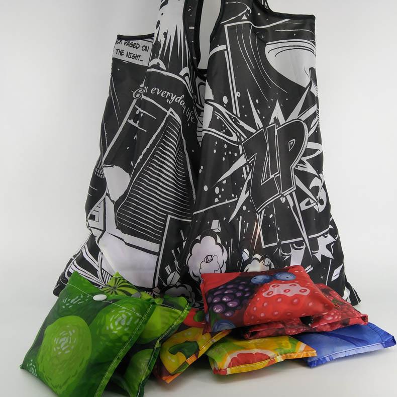 Custom Print Promotional reusable shopping bag