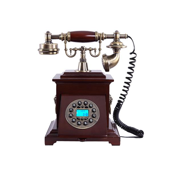 ms 6700a en bois style ancien telephone