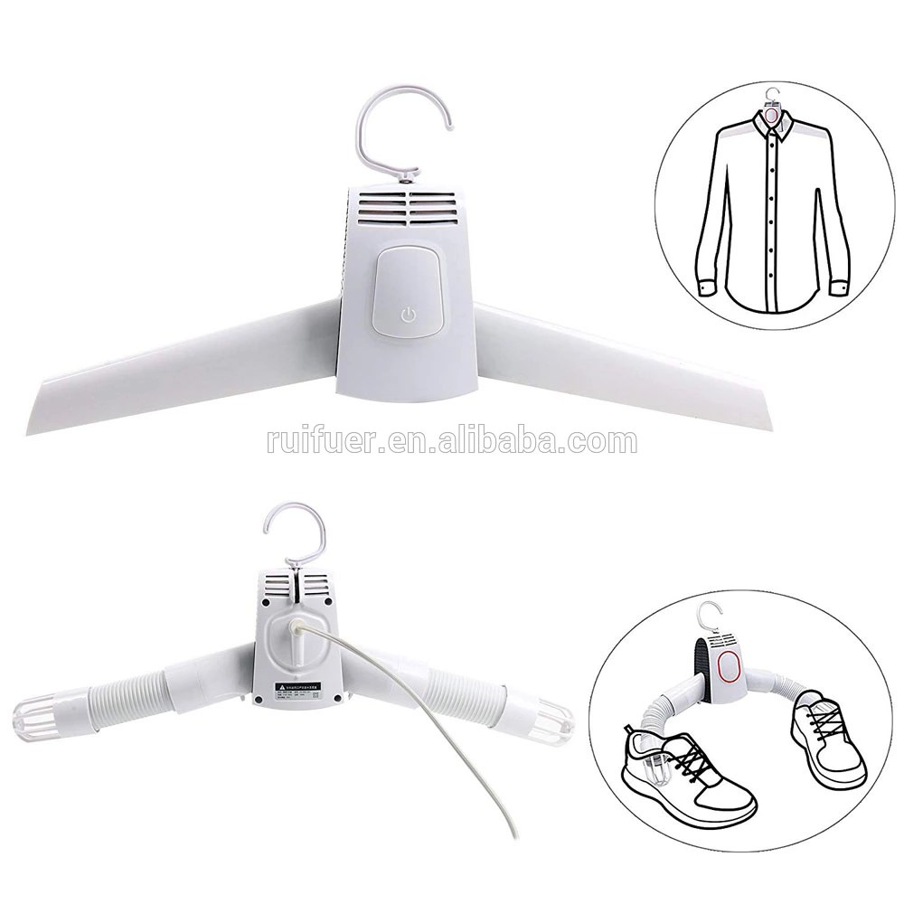 mini portable clothing drying hanger compact electric clothes drying rack smart shoes dryer heater great for travel business buy portable home