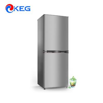 160l Ghana Certificate Energy Saving Fridge Apartment Small Size Refrigerator
