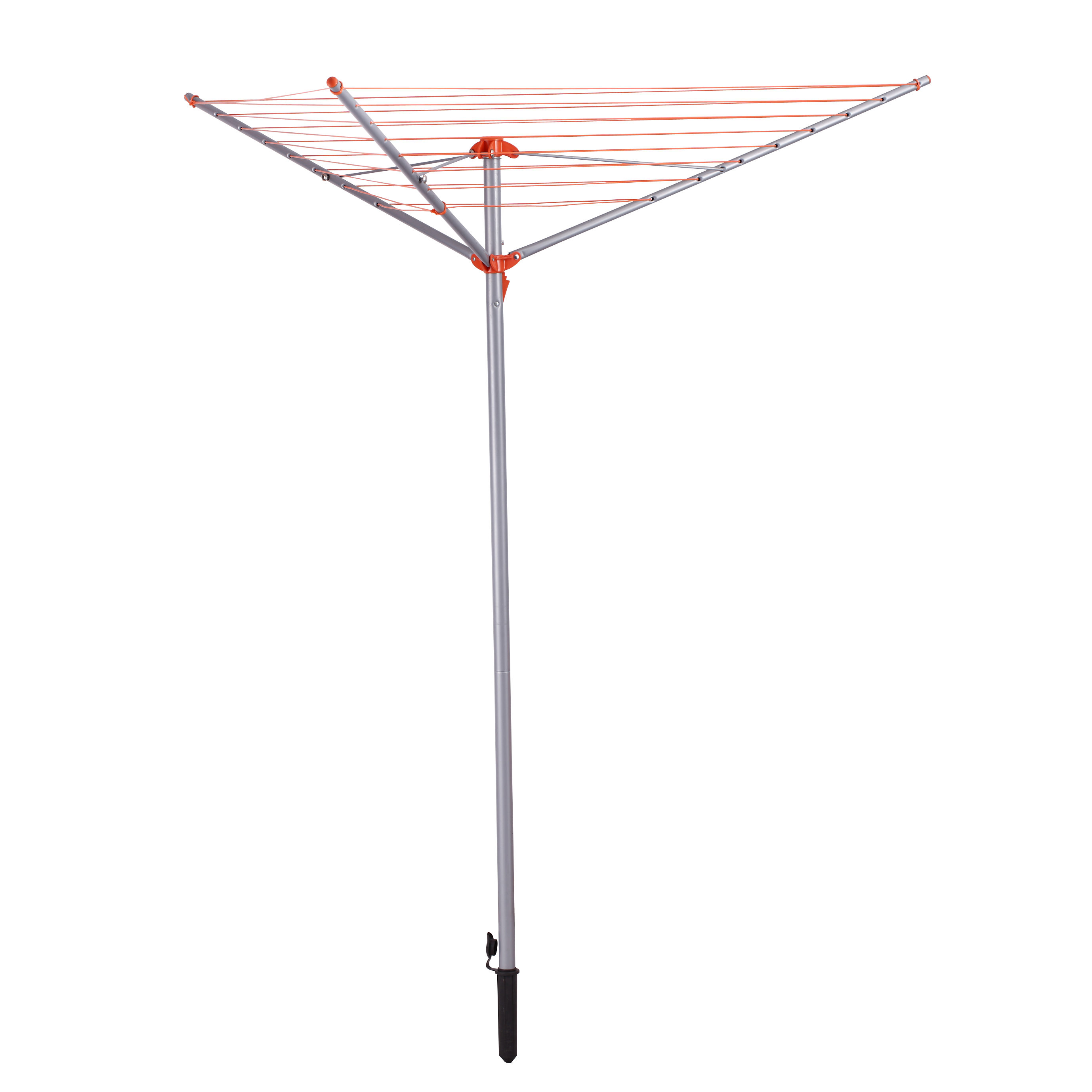 3 Arm 26m Rotary Airer Clothes Dryer Outdoor Laundry