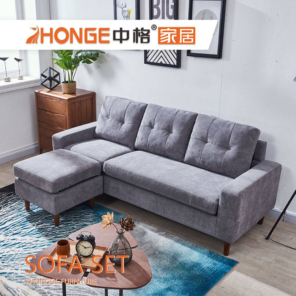 malaisie salon design moderne gery l en forme de coin tissu en bois canape ensemble de meubles buy moderne gris tissu canape ensemble malaisie bois canape