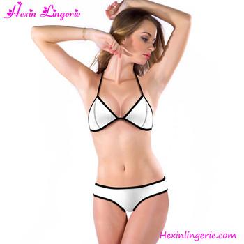 Free Sample Sexy Nurse Teen Transparent Sexy Bra And Panty Fashion Bikini