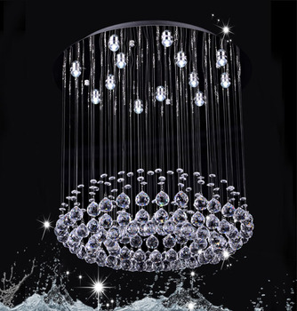 Modern Chandelier Organza Crystal Commercial Chandeliers Model Dy 13014 13