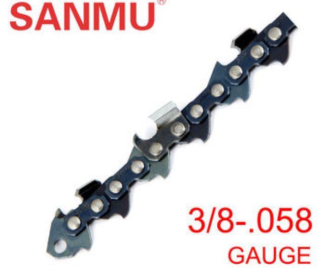 Sanmu 20 S72 Saw Chain 3  058 Gauge