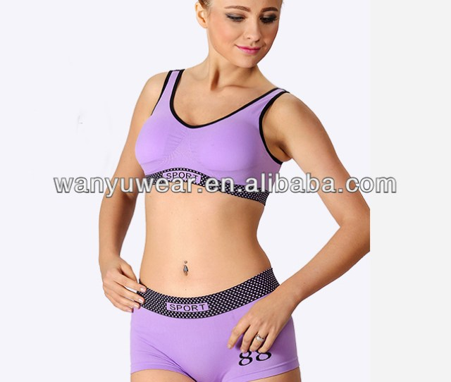 Factory Provide Seamless Sports Bra Sexy Young Teens Wearing Bras
