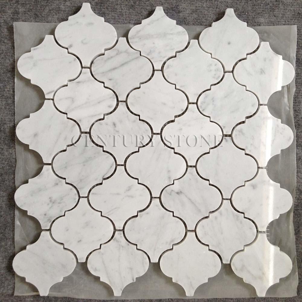 carrara marble lantern mosaic backsplash tiles lowes buy backsplash tiles lowes carrara marble lantern mosaic product on alibaba com