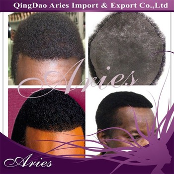 best selling remy human hair swiss lace afro toupees for black men afro toupees for black