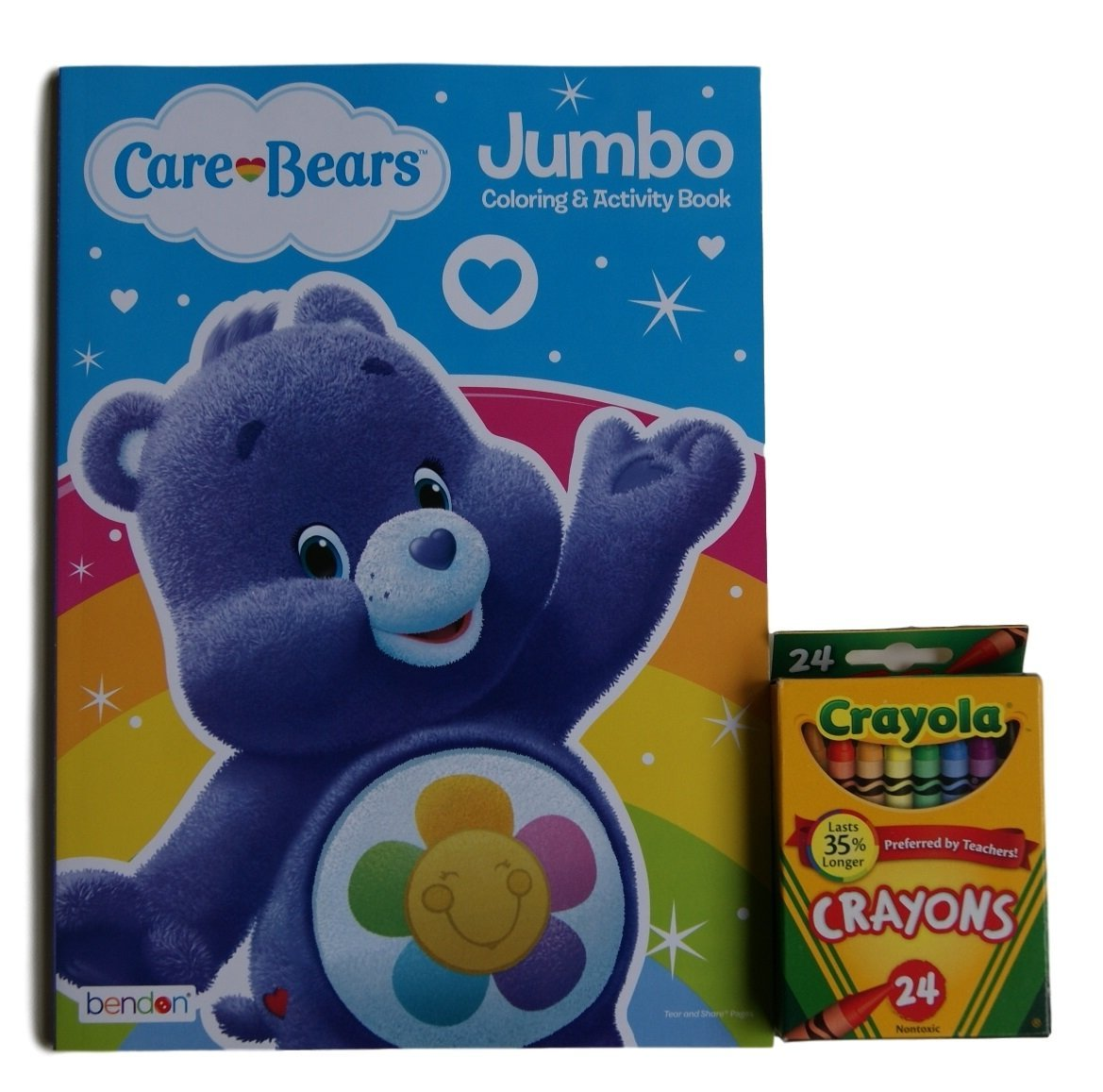 Buy Care Bears Harmony Bear Jumbo Coloring And Activity Book With Crayola Crayons In Cheap