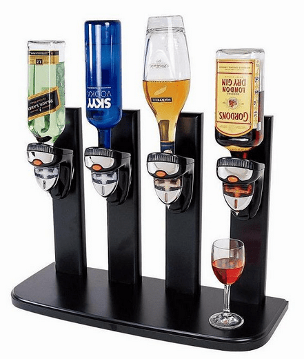 4 Bottles Beer Shot Machine Wine Dispenser Machine,Beer ...