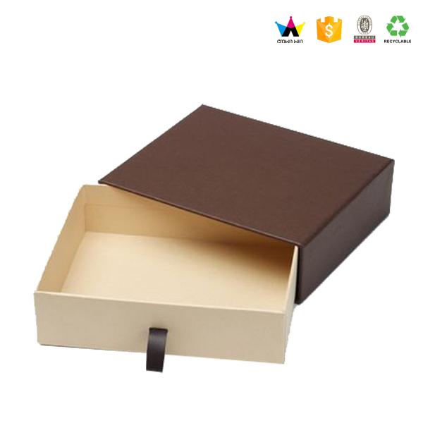 Luxury Custom Cardboard Slide Drawer Jewelry Packaging Box