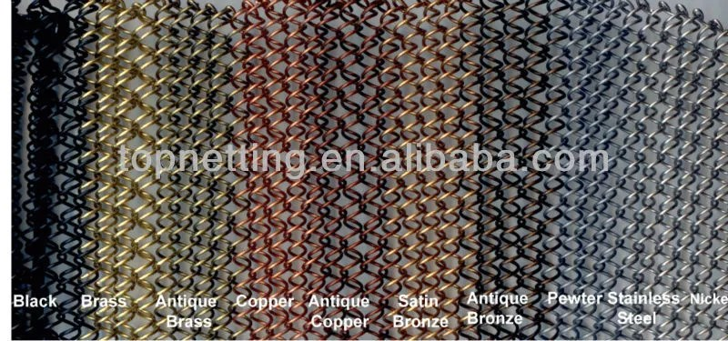 copper color fireplace mesh curtain spark screen buy spark screen fireplace mesh curtain fireplace pull screen product on alibaba com
