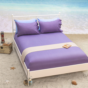 100 Cotton Solod Color Used Hotel Bed Sheets Wholesale