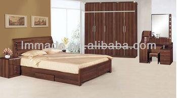 Hot Melamine Indian Bedroom Furniture Designs