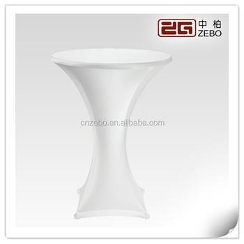 nouvelle annonce blanc cocktail haut de gamme table extensible spandex couvre linge de table a vendre