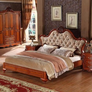 Malaysia Latest Style Solid Wood Fabric Beds Bedroom Furniture     Malaysia latest style solid wood fabric beds bedroom furniture designs